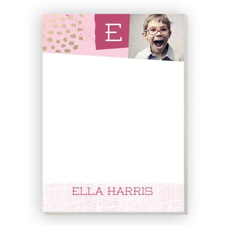 - Festive Cut Paper Personalized Notepad