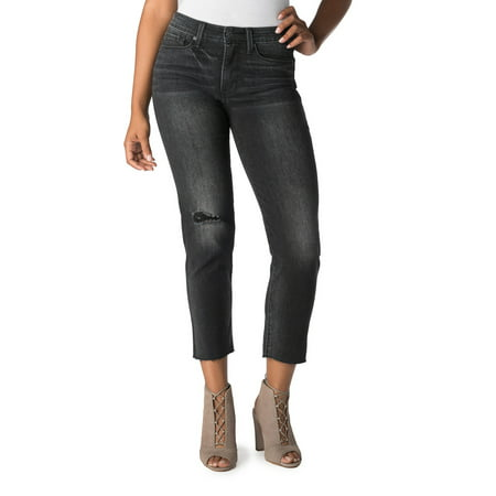 Signature by Levi Strauss & Co. Women's High Rise Ankle Slim