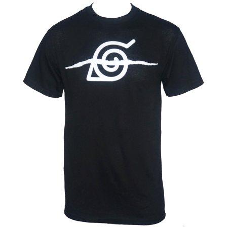 Naruto Shippuden Anti Leaf Village Symbol T Shirt Walmart