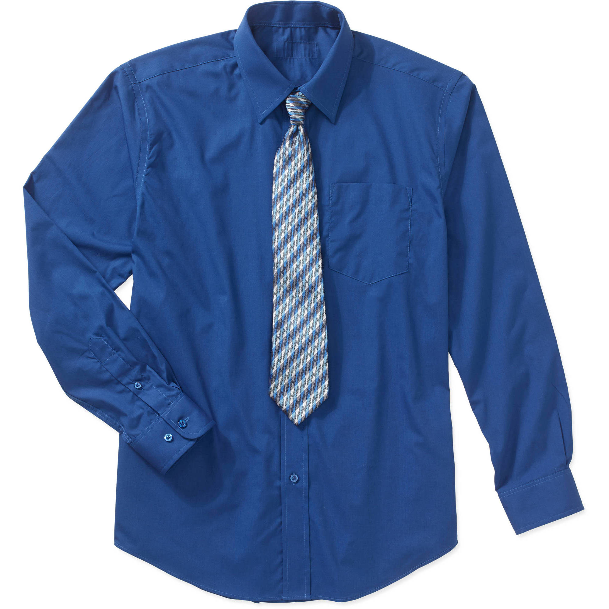 Men's Packaged Dress Shirt-Tie Set