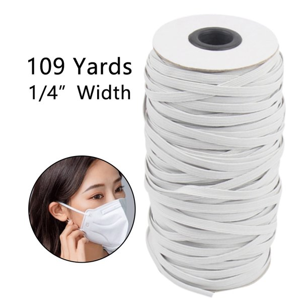 Snorda Elastic Bands For Face Protector Width Elastic Cord For