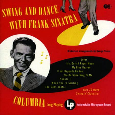 Swing & Dance with Frank Sinatra (CD) - Halloween Swing Dance Music