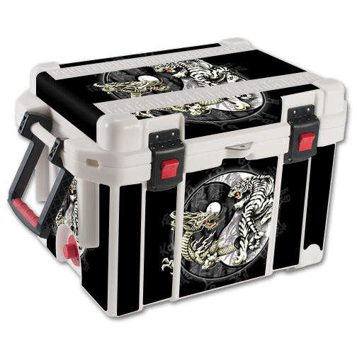 MightySkins Protective Vinyl Skin Decal for Pelican 35 qt Cooler wrap cover sticker skins