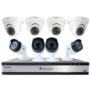 Uniden Guardian G71644d3 16-channel 1080p 3tb Surveillance System With 8 Cameras