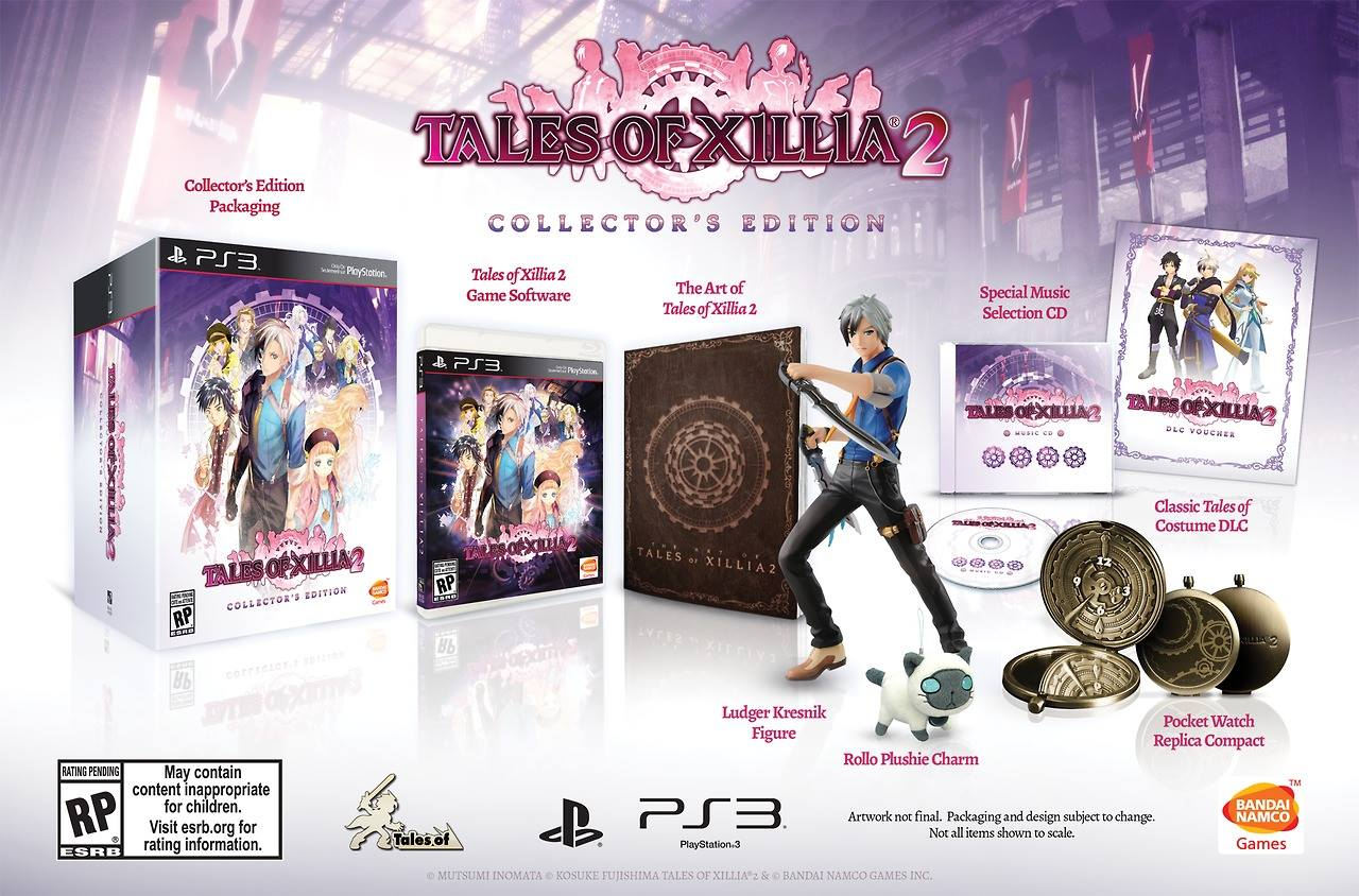 Tales Of Xillia 2 Collector S Edition Playstation 3 Walmart
