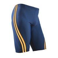 Adoretex Men's Splice Jammer Swimsuit (MJ004) - Navy/Gold - 40