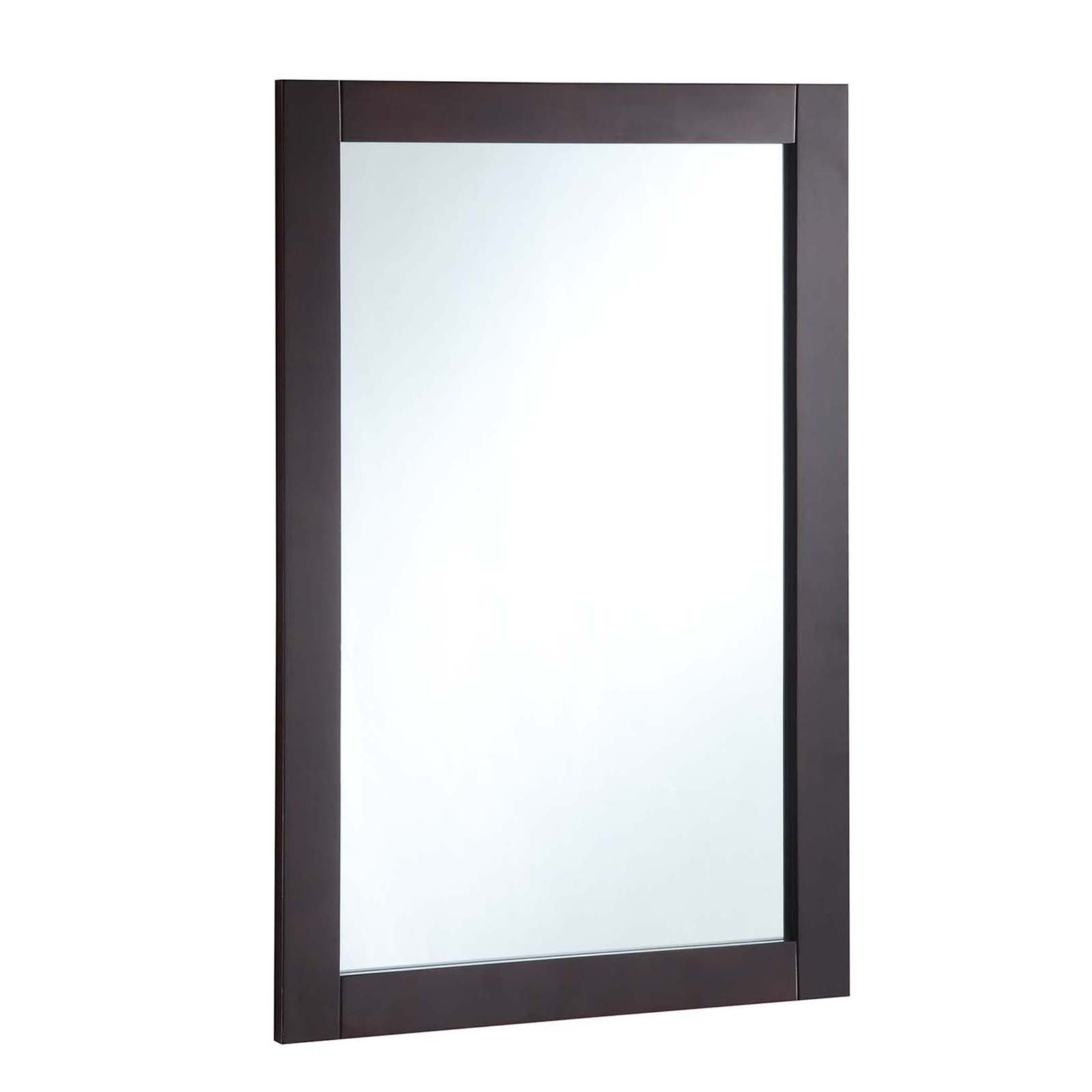 "Click here to buy Design House 547075 20"" x 30"" Vanity Mirror, Espresso by Design House."