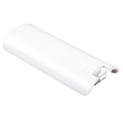 Insten For Nintendo Wii / Wii U Controller Battery Pack Cover Shell - White