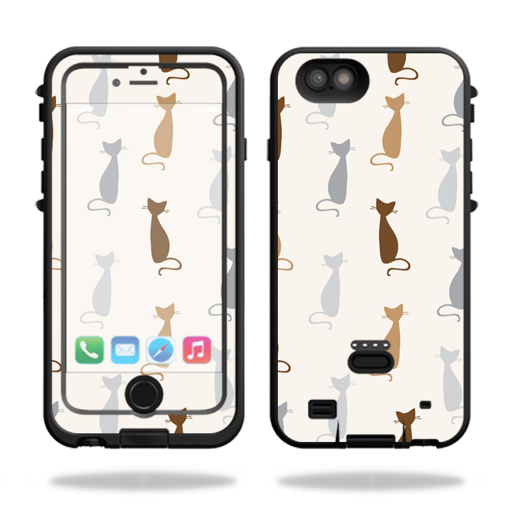 MightySkins Protective Vinyl Skin Decal for LifeProof FRE Power iPhone 6 Plus Case Case wrap cover sticker skins Cat Lady