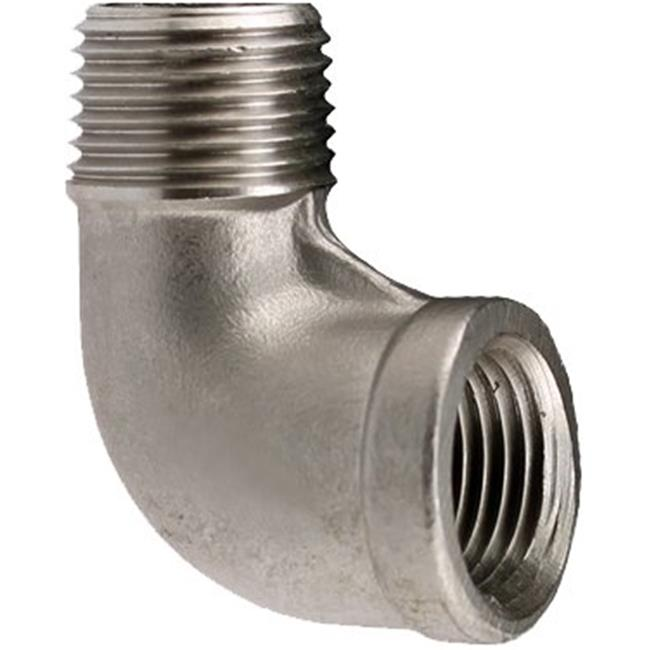 Boshart Industries U2-SSSE-07 0.75 in. 304 Stainless Steel 90 deg Elbow - image 1 of 1