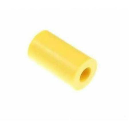 Pinball Yellow Rubber Bumper Sleeve .5 inch OD x .260 ID x .875 inch L, Stern ()
