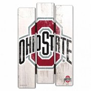 Ohio State Buckeyes Sign 11x17 Wood Fence Style