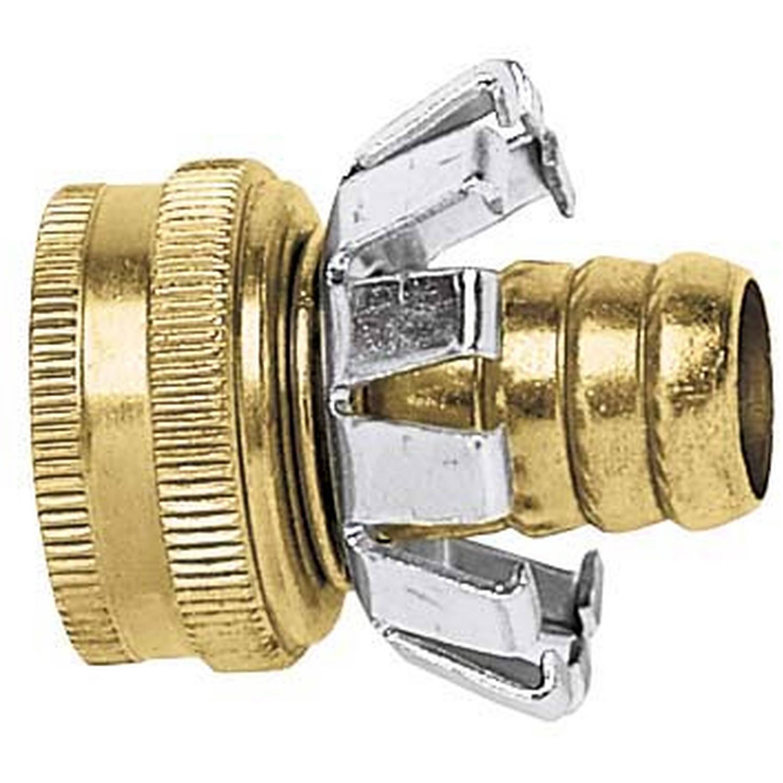 "Gilmour C58F 5 8"" Female Brass Hose Coupler by Fiskars Brands Inc Watering"