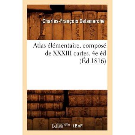 Delamarche Map (Atlas �l�mentaire, Compos� de XXXIII Cartes. 4e �d (�d.1816))