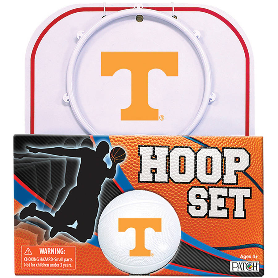 Officially Licensed NCAA Tennessee Hoop Set