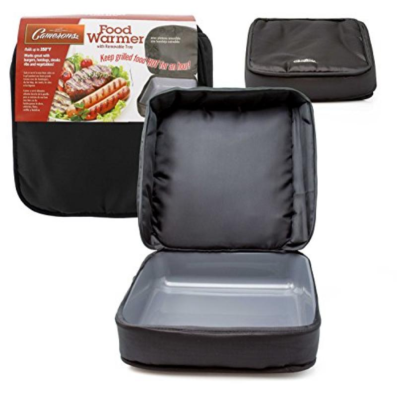 Insulated Food Carrier - Portable Hot Food Bag Keeps Food Warm For Up To One Hour