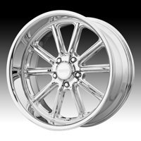American Racing Vintage VN507 Rodder Chrome 18x9.5 5x4.5 0mm (VN50789512200)