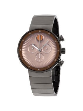 Movado Edge Grey Stainless Steel Mens Watch 3680024