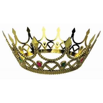 ROYAL QUEEN CROWN - GOLD 12 PACK](Crowns For Queens)