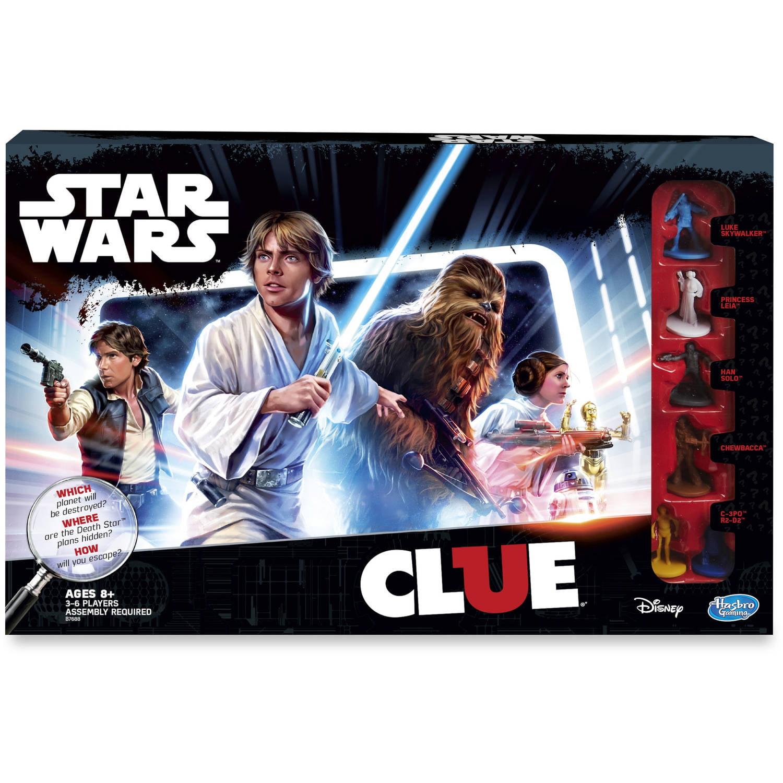 Clue Star Wars Cluedo