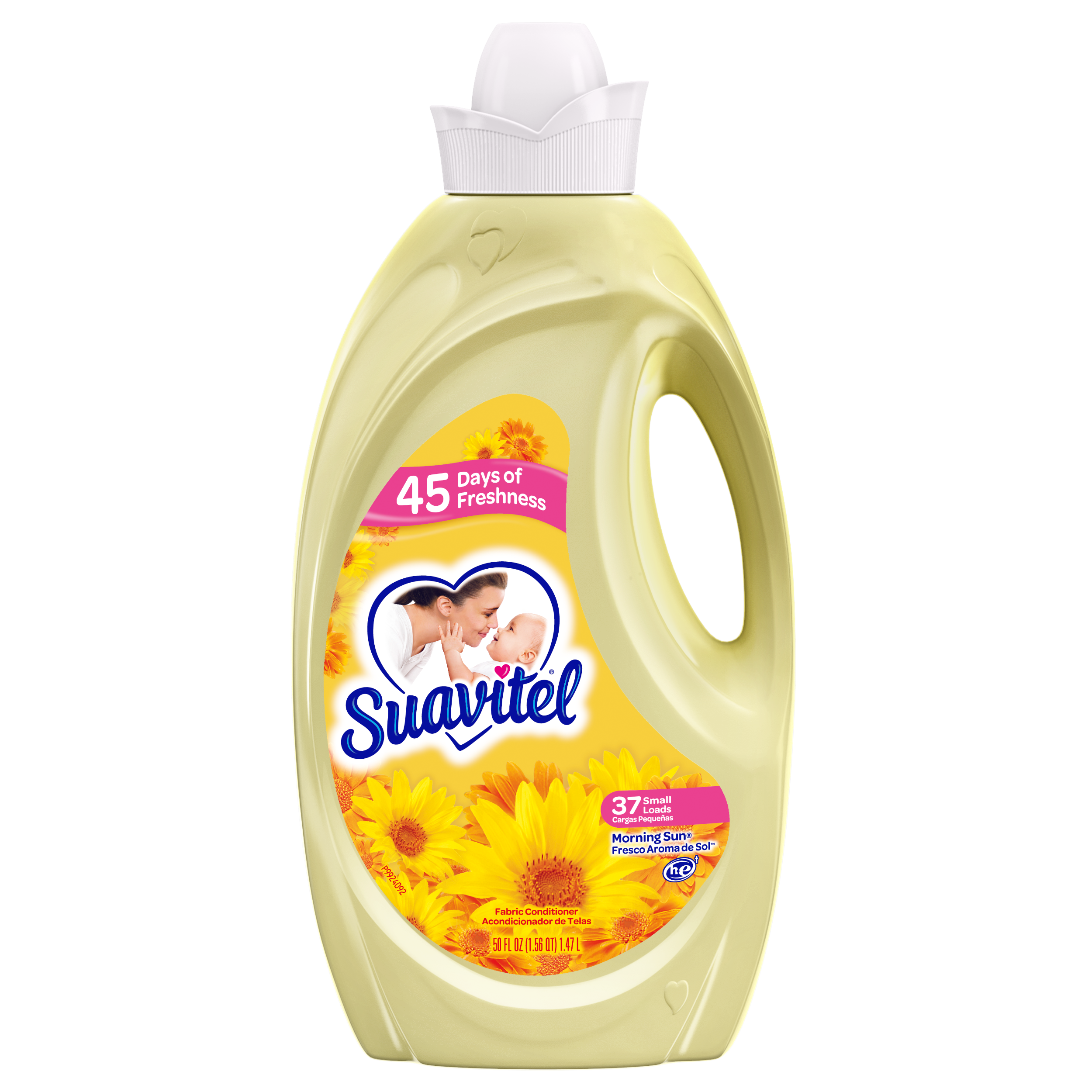 Suavitel Morning Sun Fabric Conditioner, 34 small loads, 50 fl oz