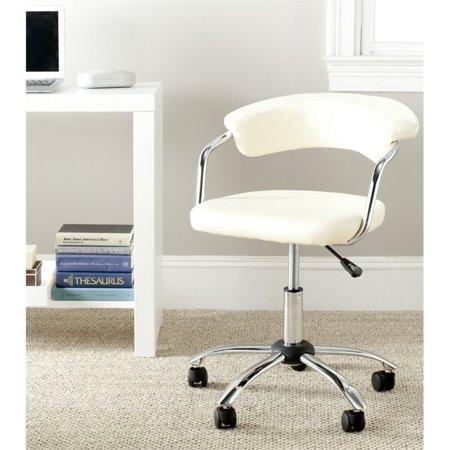 Safavieh Pier Desk Office Chair in Cream - image 2 de 4