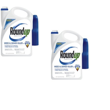 Roundup Ready-To-Use Weed & Grass Killer III Trigger Sprayer , 1 gal. (2