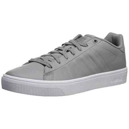 K-Swiss Men's Court Frasco SC Sneaker Gray/White 8 M US