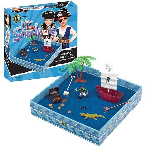 My Little Sandbox Play Set: Pirate's Treasure