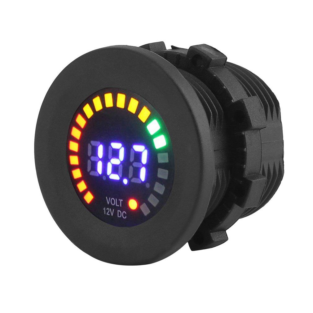 12V Mini Digital Voltage Meter Display Voltmeter LED Panel Voltage Indicator by Generic
