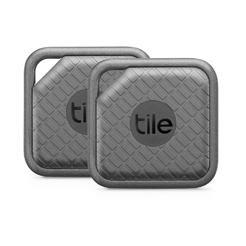 Tile Sport Pro - Key Finder. Phone Finder. Anything Finder - 2 Pack, Graphite