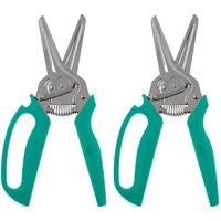 Kuhn Rikon Set of 2 3-in-1 Shears w/ Easy Grip Handle Model K45657