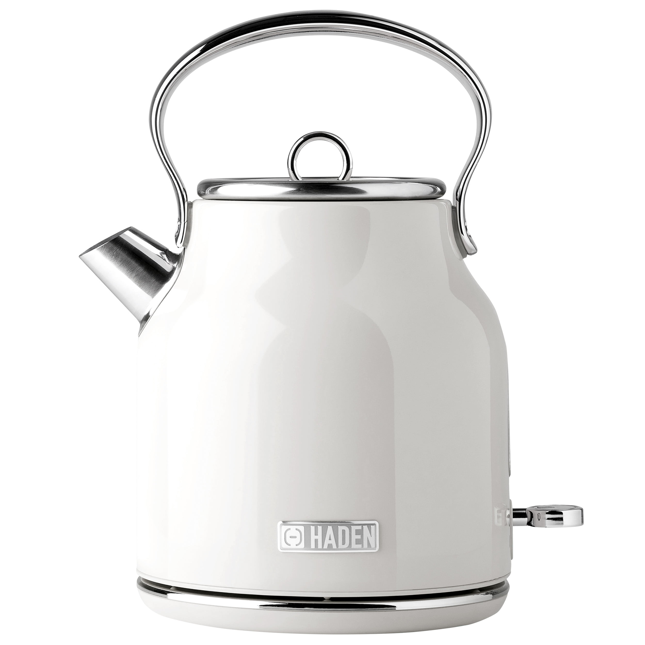 White Decor Boiler With Handle Small Kettle Planter Decor Tea Kettle