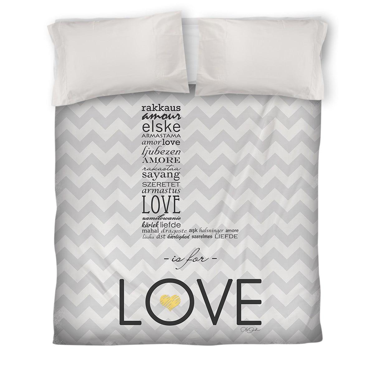 IDG L is for Love Duvet Cover