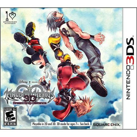Squareenix Kingdom Hearts 3ds With Ar Cards