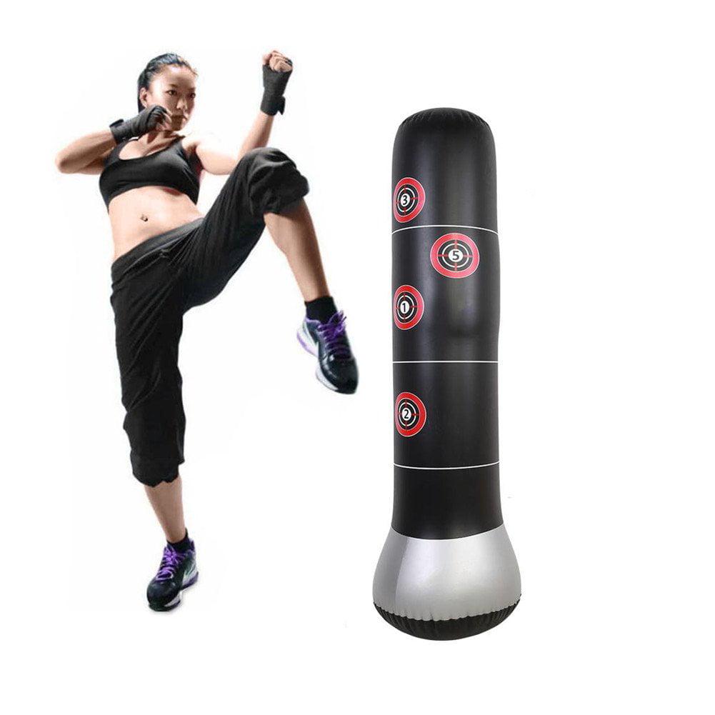 Inflatable punching bag boxing tumbler punching bag fitness strength training