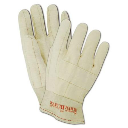 Magid Heater Beater Mens Jumbo 27 oz. Cotton Hot Mill Gloves, 12 - Cotton Hot Mill Gloves
