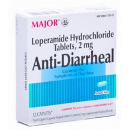 antidiarrhéiques Caplets 12 Caplets (pack de 2)