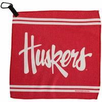 "Nebraska Cornhuskers WinCraft 13"" x 13"" Waffle Towel - No Size"