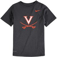 Virginia Cavaliers Nike Youth Logo Legend Performance T-Shirt - Anthracite