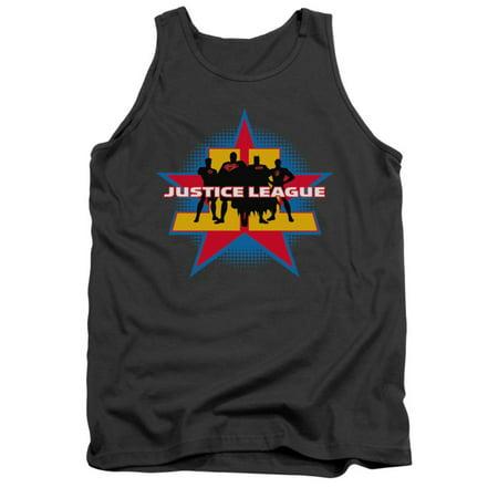 Justice League DC Comics Stand Tall Adult Tank Top Shirt