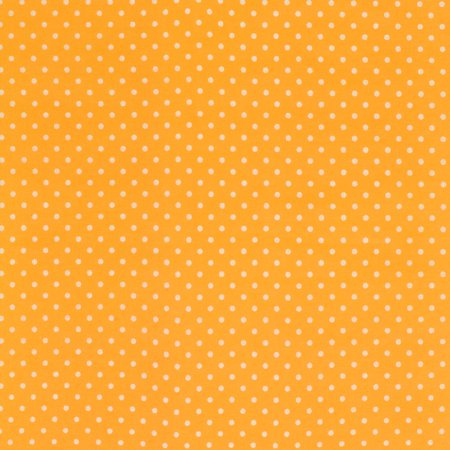 SHASON TEXTILE (3 Yards cut) 100% COTTON PRINT QUILTING FABRIC, SUNSHINE / WHITE SMALL DOTS.