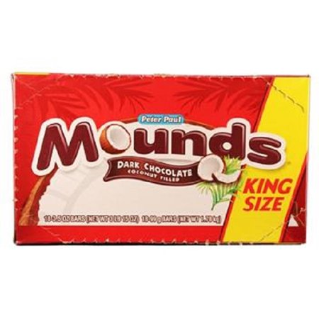 Mounds Chocolate Bar (Mounds Candy Bars, 3.5-Ounce (Pack of 18) )