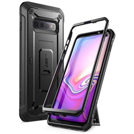 Samsung Galaxy S10 Case (2019 Release) SUPCASE Unicorn Beetle Pro Series Full-Body Dual Layer Rugged with Holster & Kickstand Without Built-in Screen Protector (Black)