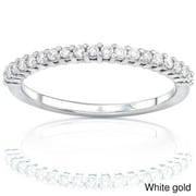 Annello  by Kobelli 14k Gold Women's 1/4ct TDW Diamond Wedding Band (G-H, I1-I2)