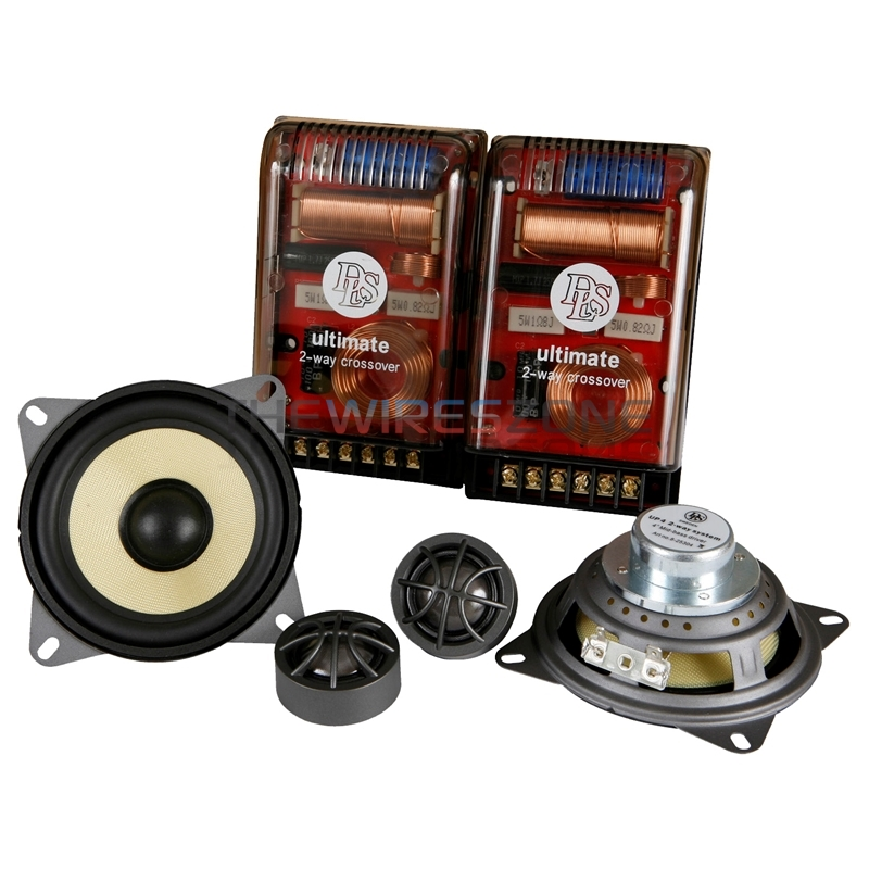 DLS UP4 Ultimate Series 2-Way 4' 160 Watt Car Component Speaker System (pair)