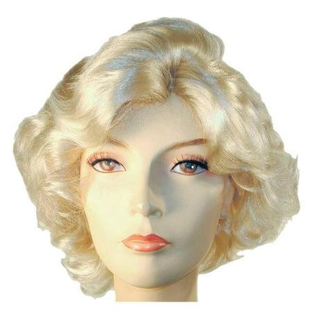 Morris Costumes LW256BL Marilyn SP Blonde Wig Costume (Milky Way Wig Marilyn)