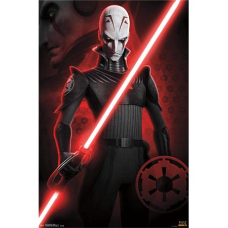 Posterazzi TIARP13284 Star Wars Rebels - Inquisitor Poster Print - 24 x 36 in. - image 1 of 1