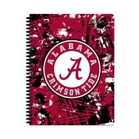 ALABAMA TIDE ACTIVE STATIC 1-SUBJECT NOTEBOOK