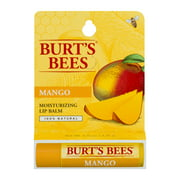 Burt's Bees Nourishing Lip Balm with Mango Butter, 0.15 oz